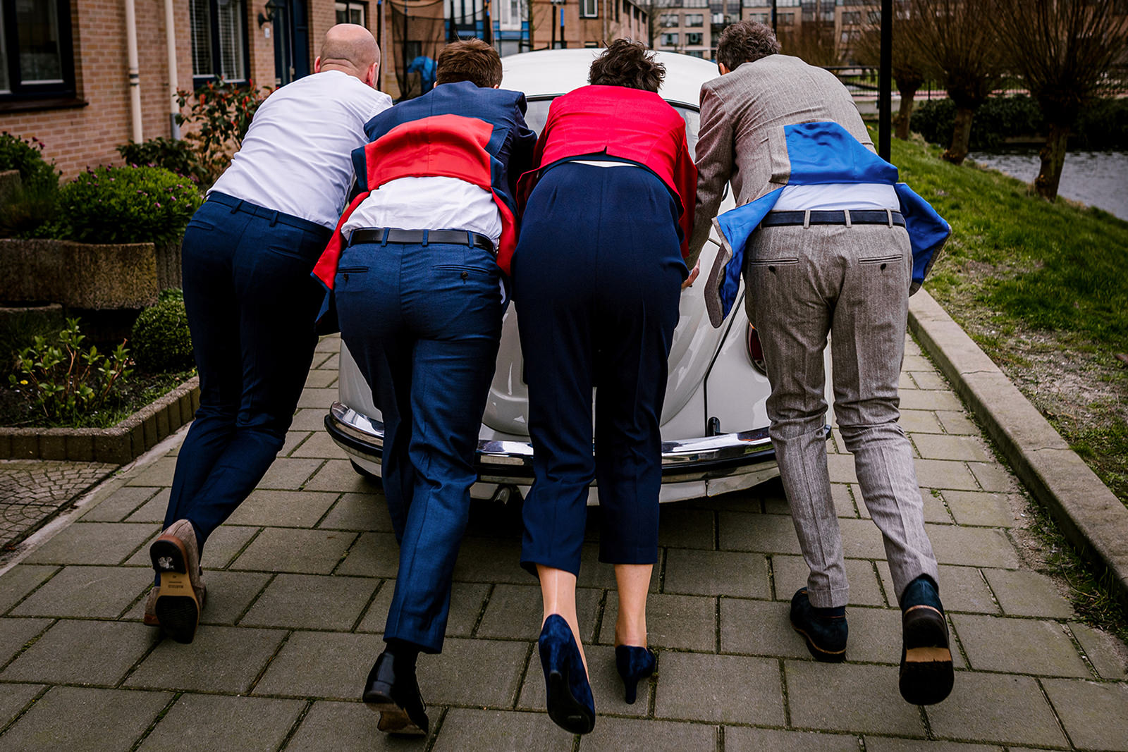 Raadhuis Leidschendam, bruidsfotograaf