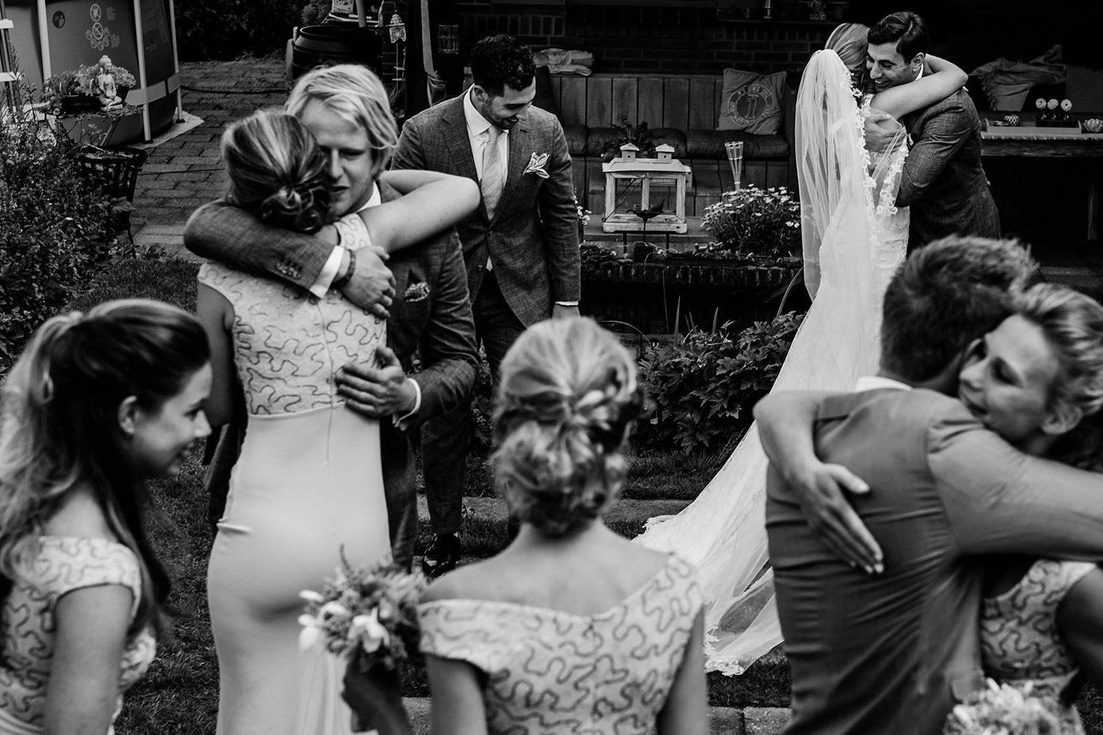 Bruidsfotograaf Nederland, zwart-wit fotografie